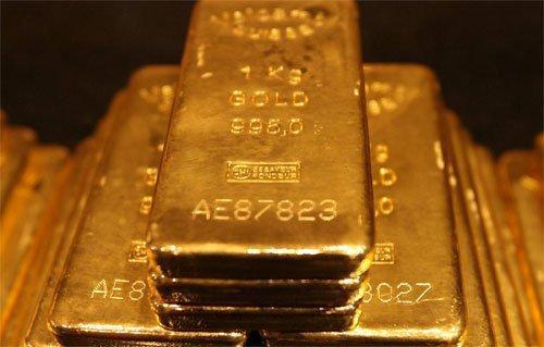 lingotti di oro impilati