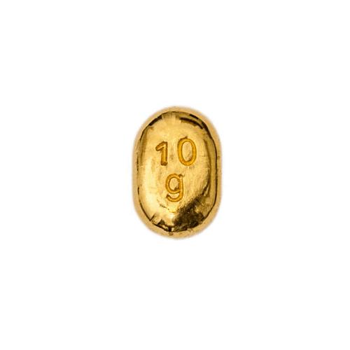 Lingotto Global Oro in oro puro fuso da 10 Grammi