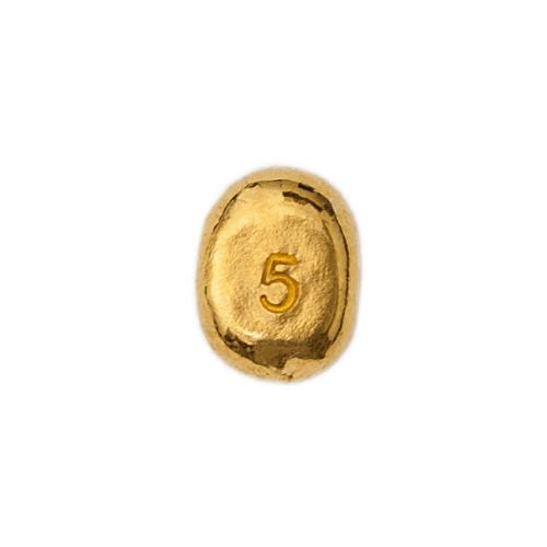 Lingotto Global Oro in oro puro fuso da 5 Grammi