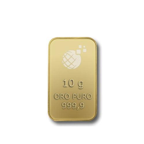 Lingotto Tranciato Global Oro 10 Grammi