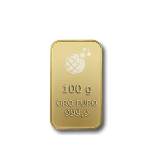 Lingotto Tranciato Global Oro 100 Grammi