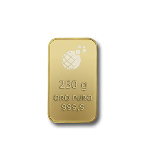 Lingotto Tranciato Global Oro 250 Grammi