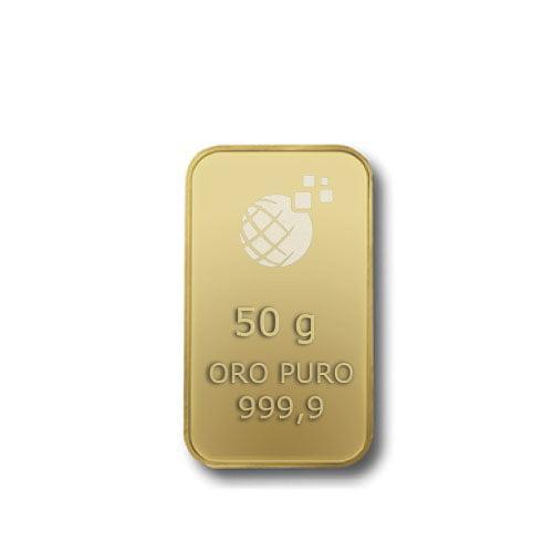 Lingotto Tranciato Global Oro 50 Grammi