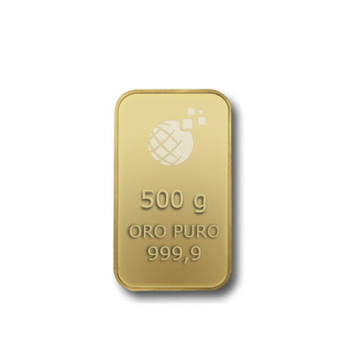 Lingotto Tranciato Global Oro 500 Grammi