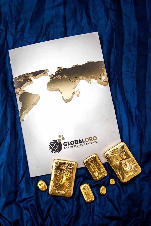 Depliant Global Oro e lingotti oro puro