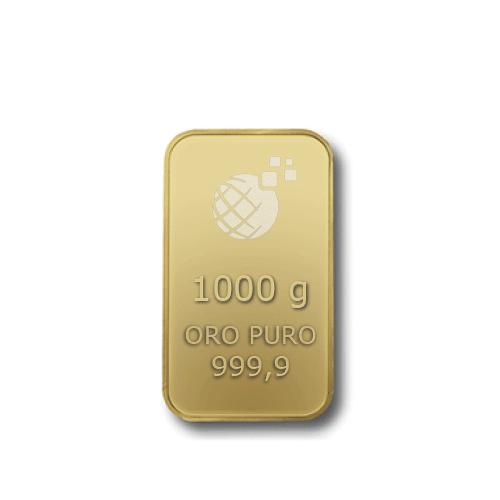 Lingotto Tranciato Global Oro 1000 Grammi