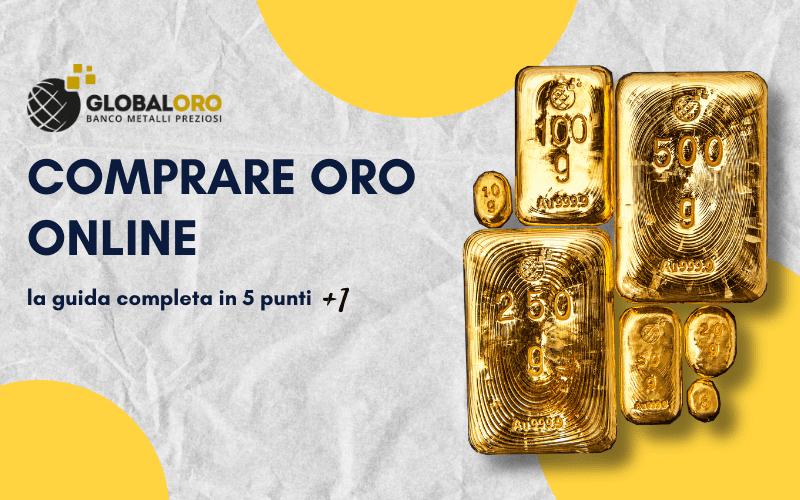comprare oro online banner